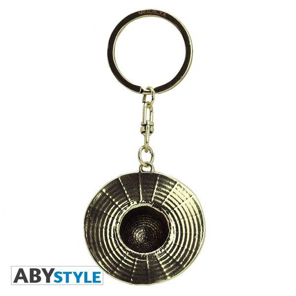 Luffy Straw Hat Keychain One Piece