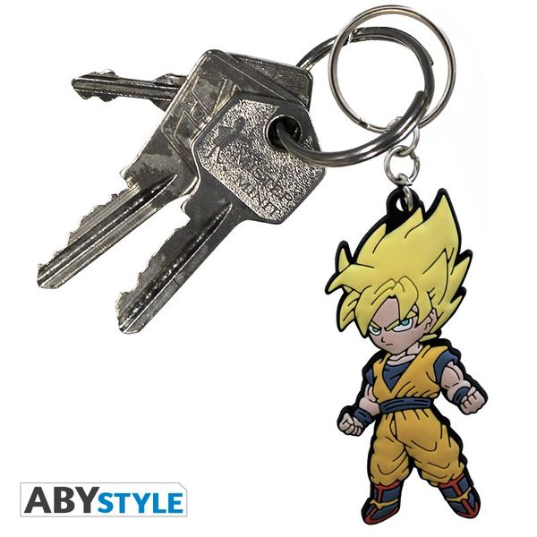 Llavero Son Goku SSJ Dragon Ball Z AbyStyle