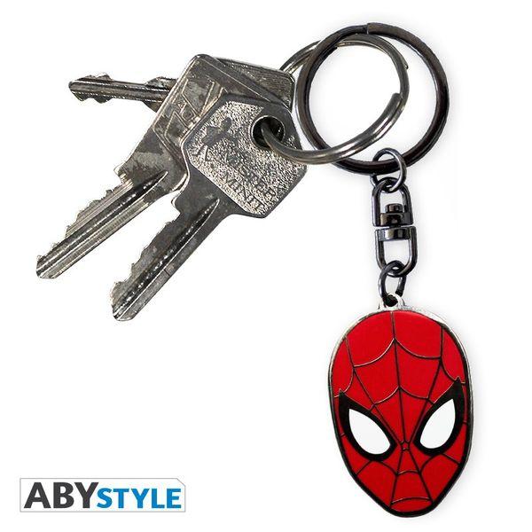 Llavero Spider Man face Marvel Comics