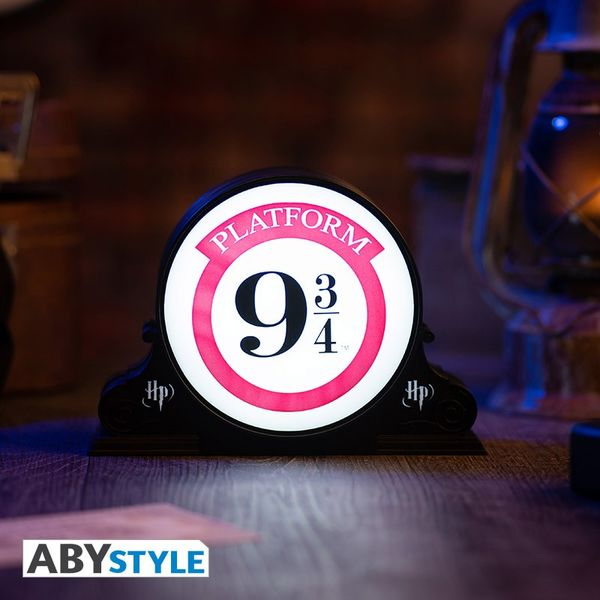 Anden 9 3/4 3D Lamp Harry Potter