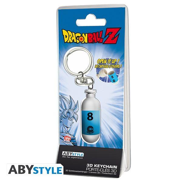 Blue Hoi-Poi Capsule Keychain Dragon Ball