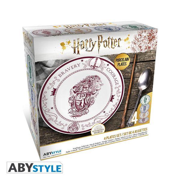 Platos Casas de Hogwarts Harry Potter