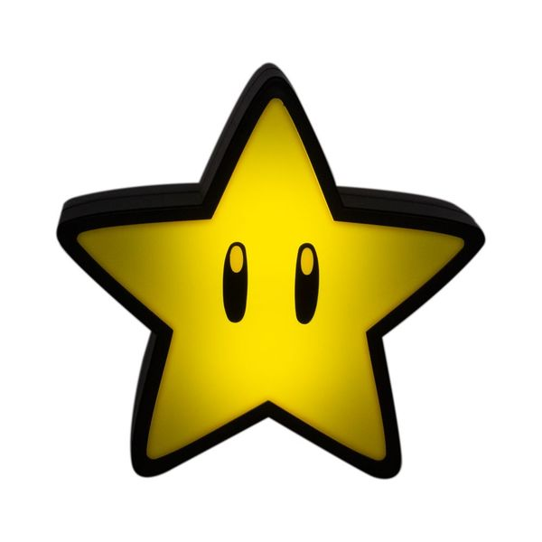 Lampara 3D Super Star Super Mario