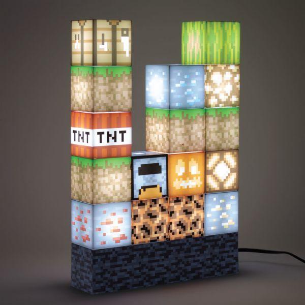Lampara 3D Block Building Minecraft