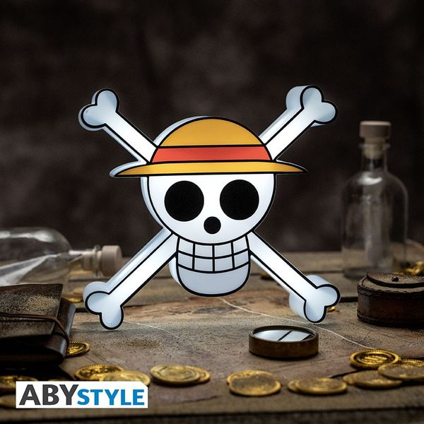 Lamp 3D Skull Luffy One Piece
