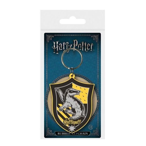 Hufflepuff Key Chain Shield Harry Potter