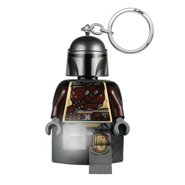 Llavero Lego Din Djarin con luz Stars Wars The Mandalorian