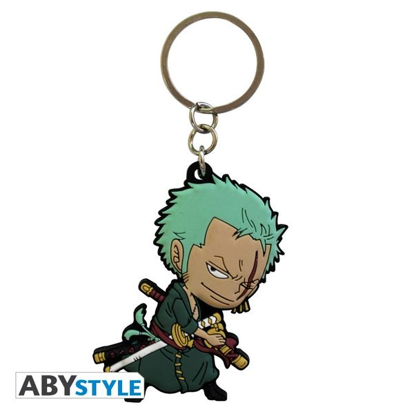 Roronoa Zoro PVC Keychain One Piece 4 cm