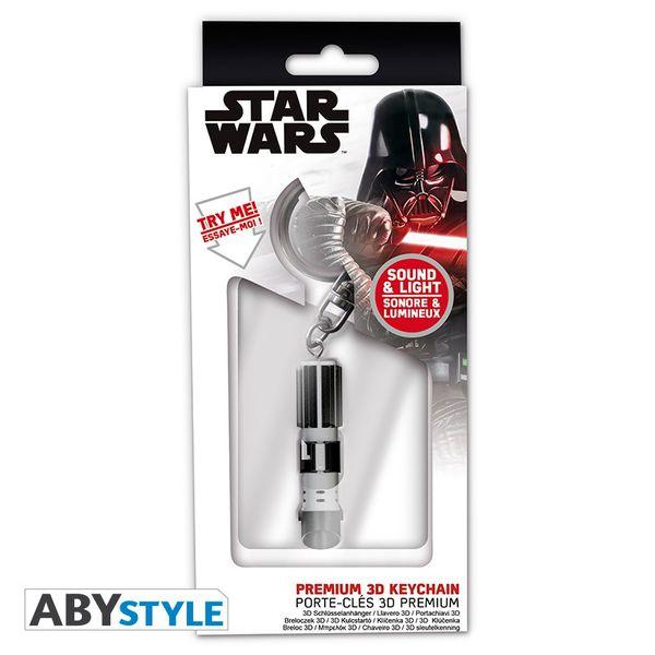 Llavero Sable Laser Darth Vader Star Wars con luz y sonido