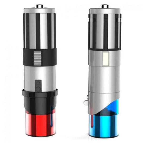Electric Salt and Pepper Shakers Lightsabers Star Wars