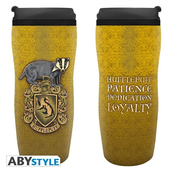 Vaso de Viaje Hufflepuff Harry Potter