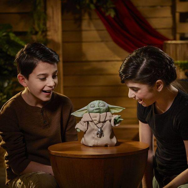Peluche The Child Grogu Star Wars The Mandalorian Animatronic