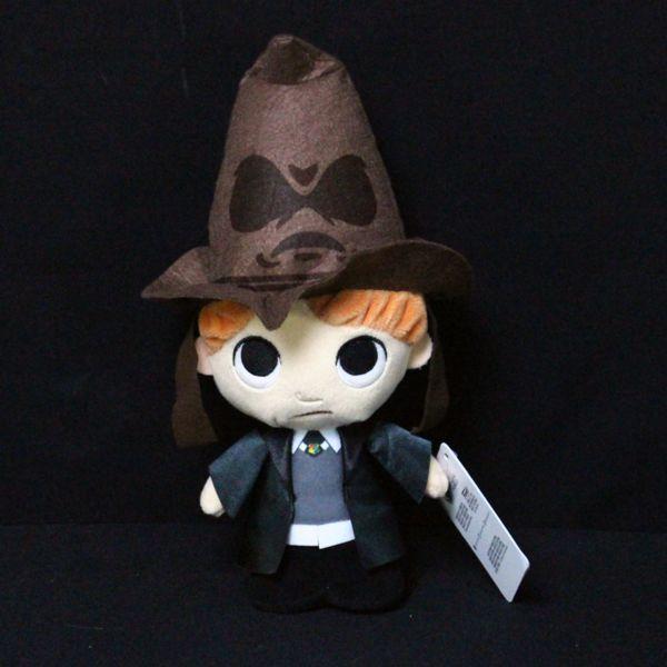 Peluche Ron Weasley con Sombrero Seleccionador Harry Potter