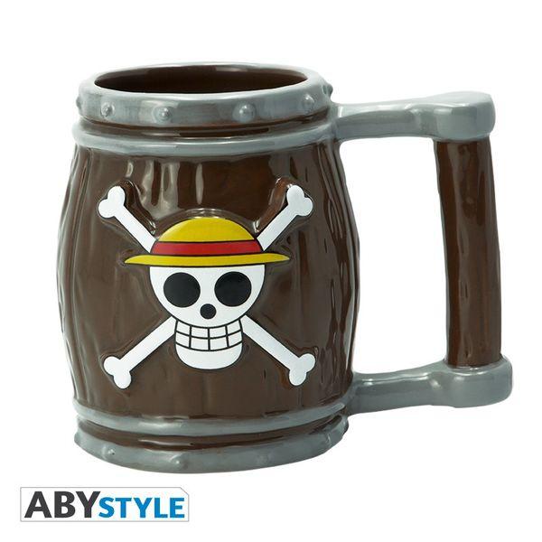 Barrel Skull Luffy 3D Mug One Piece