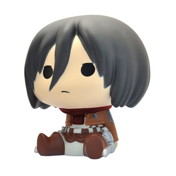 Hucha Mikasa Ackerman Chibi Ataque a los Titanes