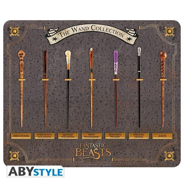 Wand Collection Mousepad Fantastic Beasts
