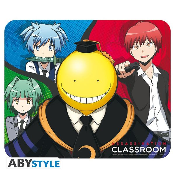Alfombrilla Akabane, Kaede, Nagisa, Koro Sensei Assassination Classroom