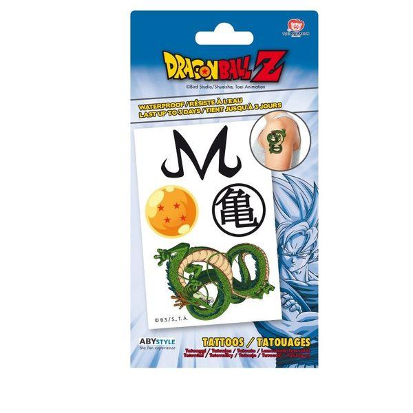 Lámina de Tatuajes Dragon Ball Z