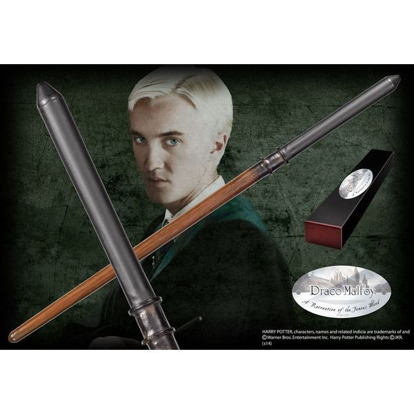 Varita Réplica Draco Malfoy Harry Potter