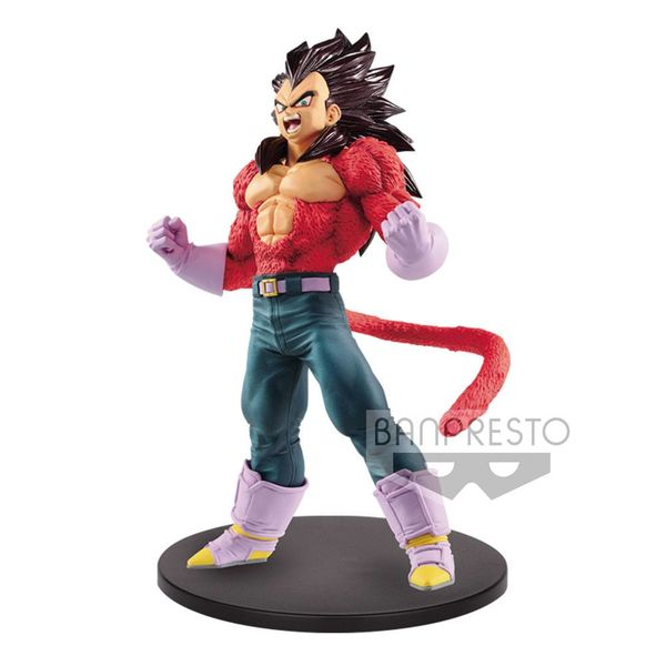 Figura Vegeta SS4 Metallic Hair Color Dragon Ball GT Blood of Saiyans