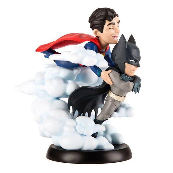 Figura Superman y Batman Q-Fig MAX World's Finest DC Comics