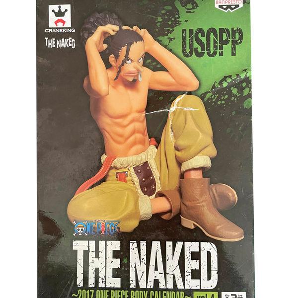 Figura One Piece - Usopp - The Naked 2017 Body Calendar Vol 4