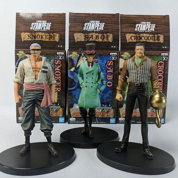 Figura Sabo One Piece Stampede DXF The Grandline Men