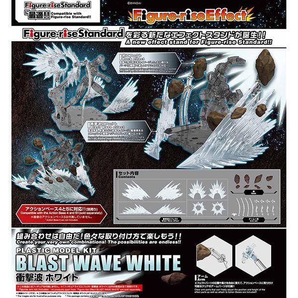 Blast Wave White  Figure Rise Effect