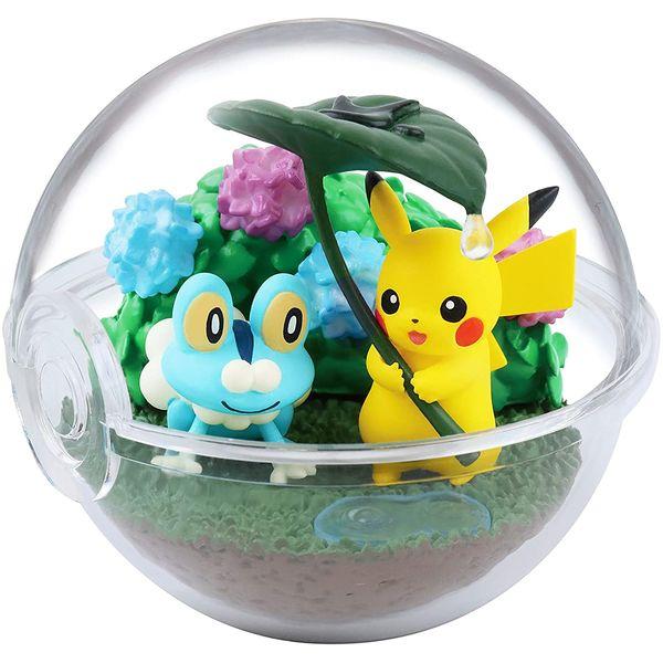 Gashapon Pokémon Terrarium Four Seasons (Caja Completa)