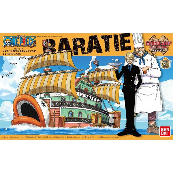 Baratie One Piece Model Kit Grand Ship Collection