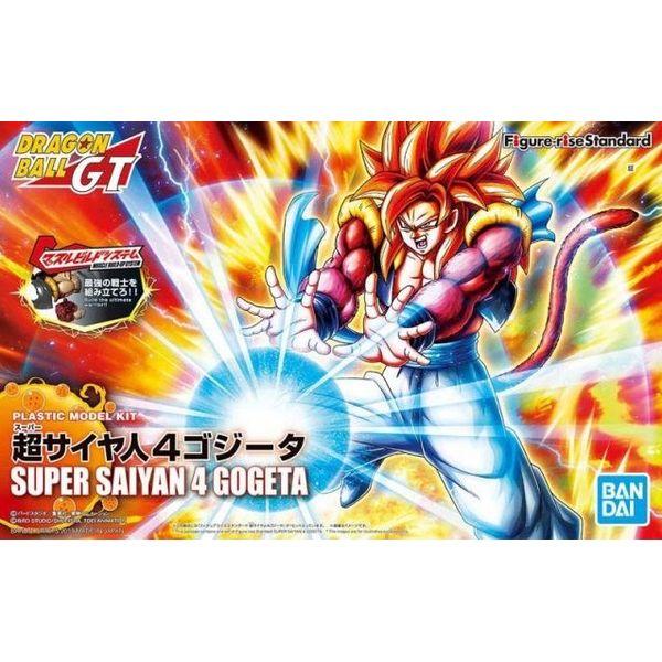 Gogeta SSJ4 Dragon Ball GT Model Kit Figure Rise Standard