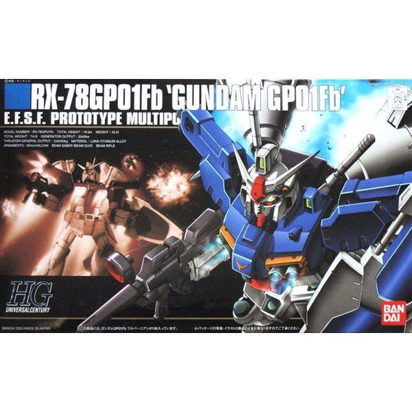 Model Kit HGUC RX-78GP01Fb Gundam GP01Fb 1/144 HG Gundam