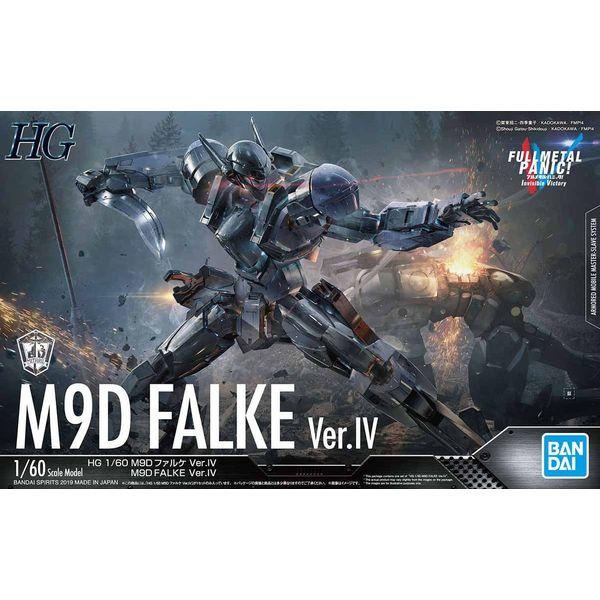 Model Kit M9D Falke Ver. IV 1/60 HG Full Metal Panic