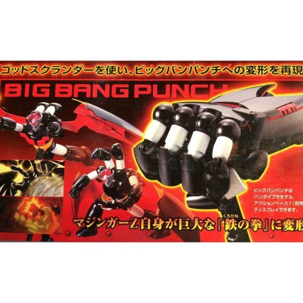 Model Kit Mazinger Z God Scrander Mechanic Collection Serie Mazinger Z