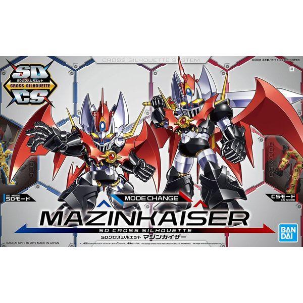Model Kit Mazinkaiser SD Cross Silhouette Mazinger