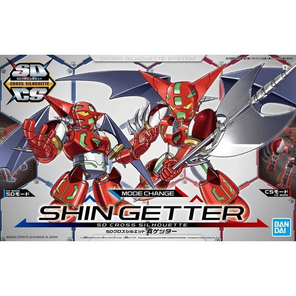Model Kit Shin Getter SD Cross Silhouette Getter Robo