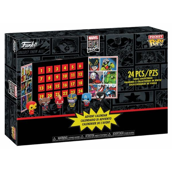 Funko Calendario de Adviento Marvel Pocket POP!