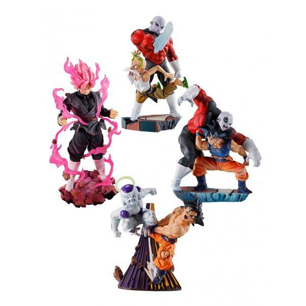 Figura Dragon Ball Super Dracap Re Birth Super Revival Set