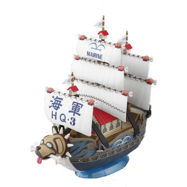 Model Kit Garp's Warship One Piece Grand Ship Collection