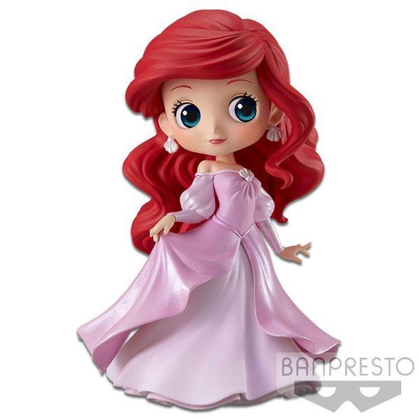 Figura Ariel Pink Princess Dress Disney Q Posket