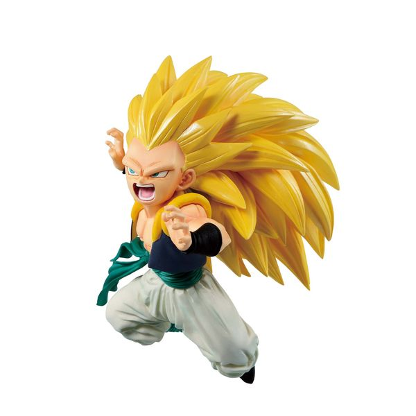 Figura Gotenks SSJ3 Dragon Ball Legends Ichibansho Rising Fighters