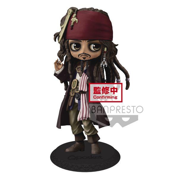 Figura Jack Sparrow Disney Characters Q Posket