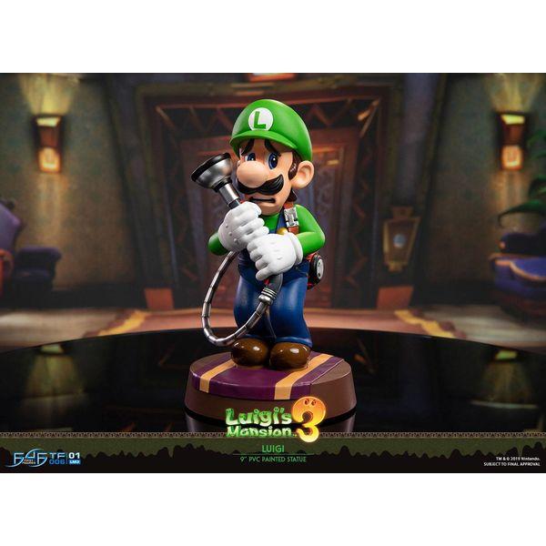 Figura Luigi Nintendo Luigi's Mansion 3