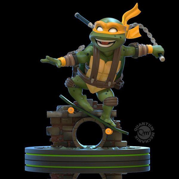 Figura Michelangelo Tortugas Ninja Q Fig