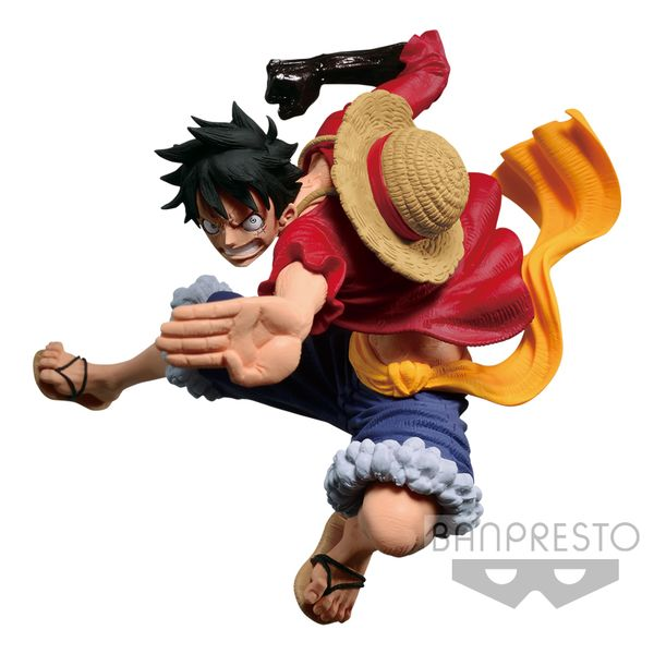 Figura Monkey D Luffy One Piece BWFC VI Vol 3
