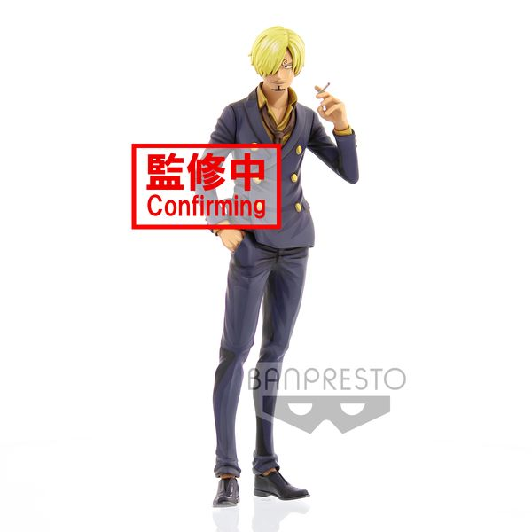 Sanji Manga Dimensions Figure One Piece Grandista