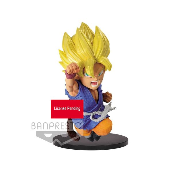 Figura Son Goku Niño SSJ Dragon Ball GT Wrath of the Dragon