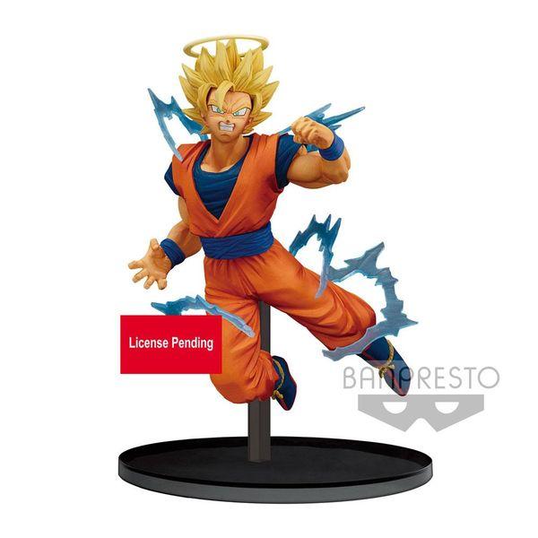Figura Son Goku SSJ2 Dragon Ball Z Dokkan Battle