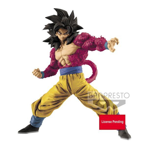 Figura Son Goku SSJ4 Dragon Ball GT Full Scratch