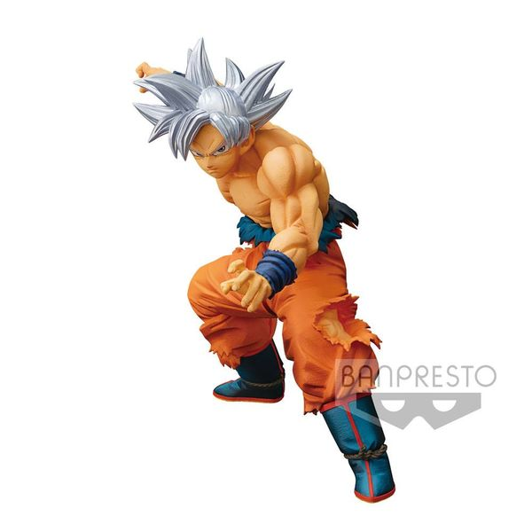 Figura Son Goku Ultra Instinct Dragon Ball Super Maximatic